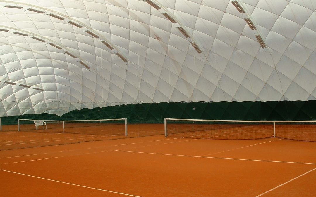 Tennis im Winter